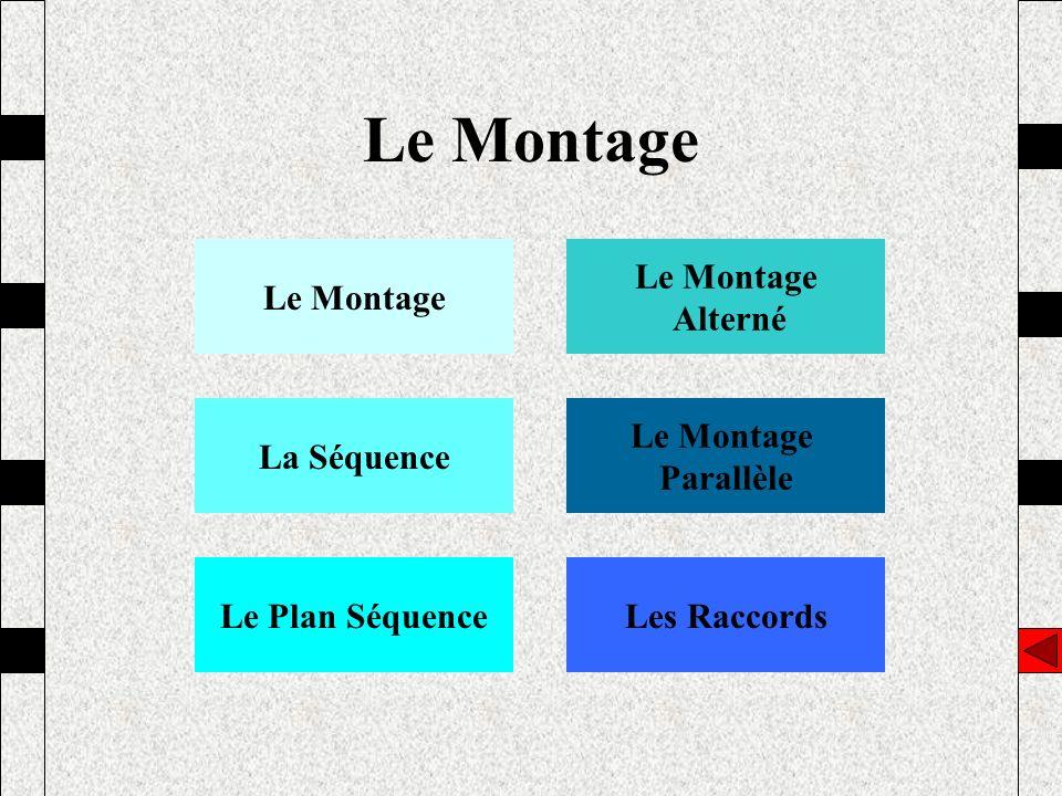 Le Montage Alterné La Séquence Le Montage Parallèle Le Plan SéquenceLes Raccords