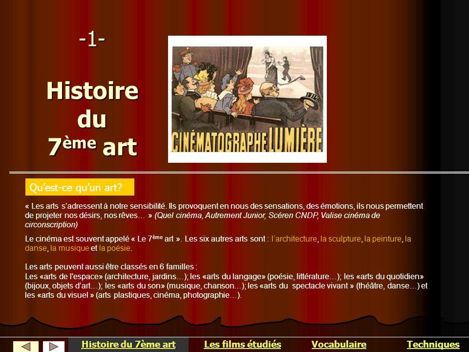 Histoire du 7 ème art Ce sont les français Louis et Auguste Lumière qui ont mis au point le cinématographe, en 1895.