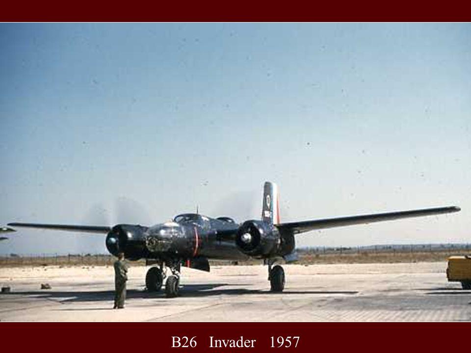 B26 Invader 1957