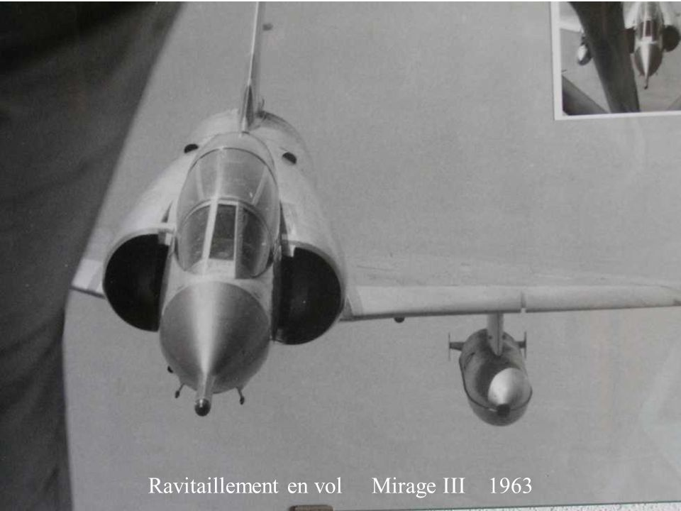 Ravitaillement en vol Mirage III 1963