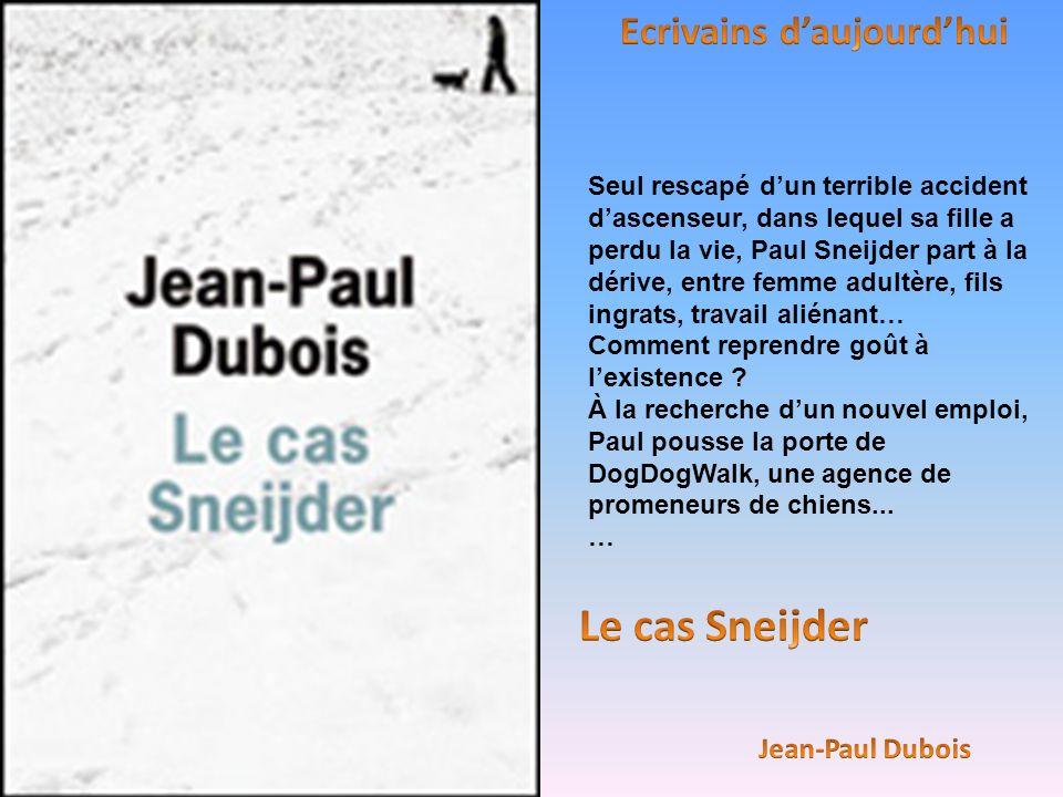 Seul rescapé dun terrible accident dascenseur, dans lequel sa fille a perdu la vie, Paul Sneijder part à la dérive, entre femme adultère, fils ingrats