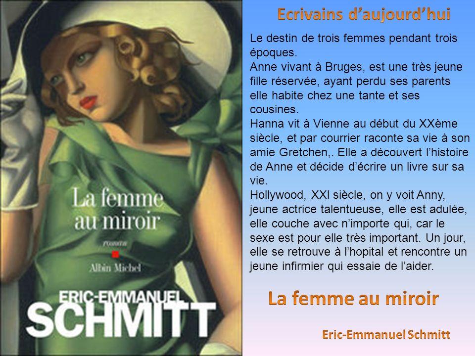 Le destin de trois femmes pendant trois époques. Anne vivant à Bruges, est une très jeune fille réservée, ayant perdu ses parents elle habite chez une
