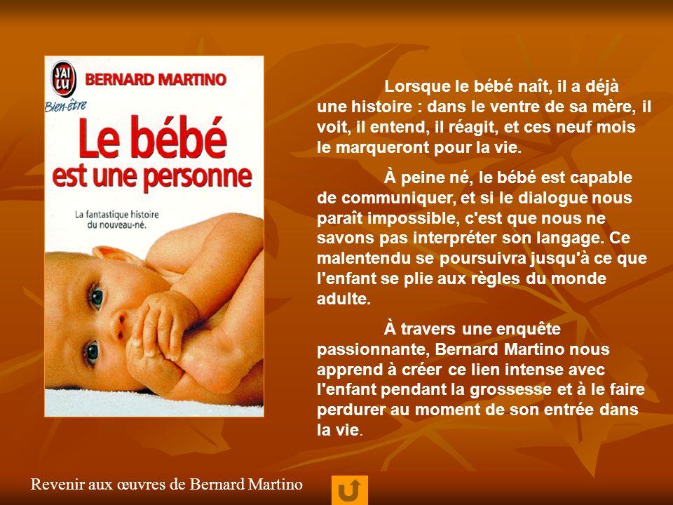 Lorsque le bébé naît, il a déjà une histoire : dans le ventre de sa mère, il voit, il entend, il réagit, et ces neuf mois le marqueront pour la vie. À