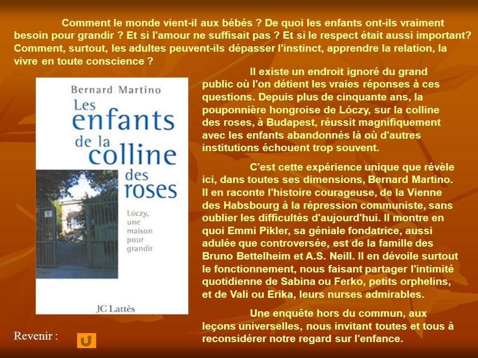 Revenir aux oeuvres de Bernard Martino :