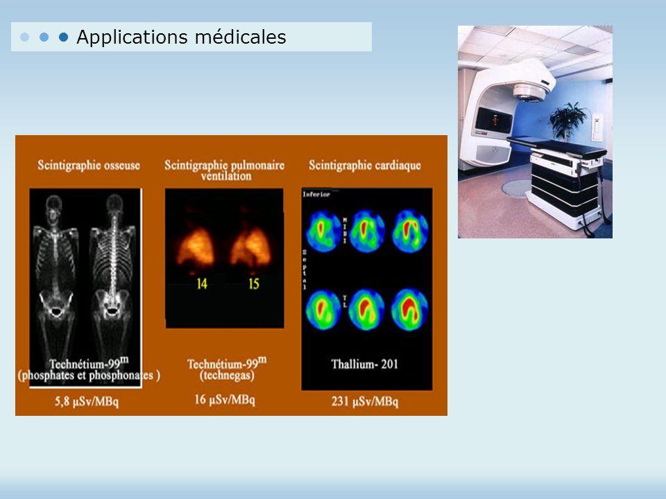 Applications médicales