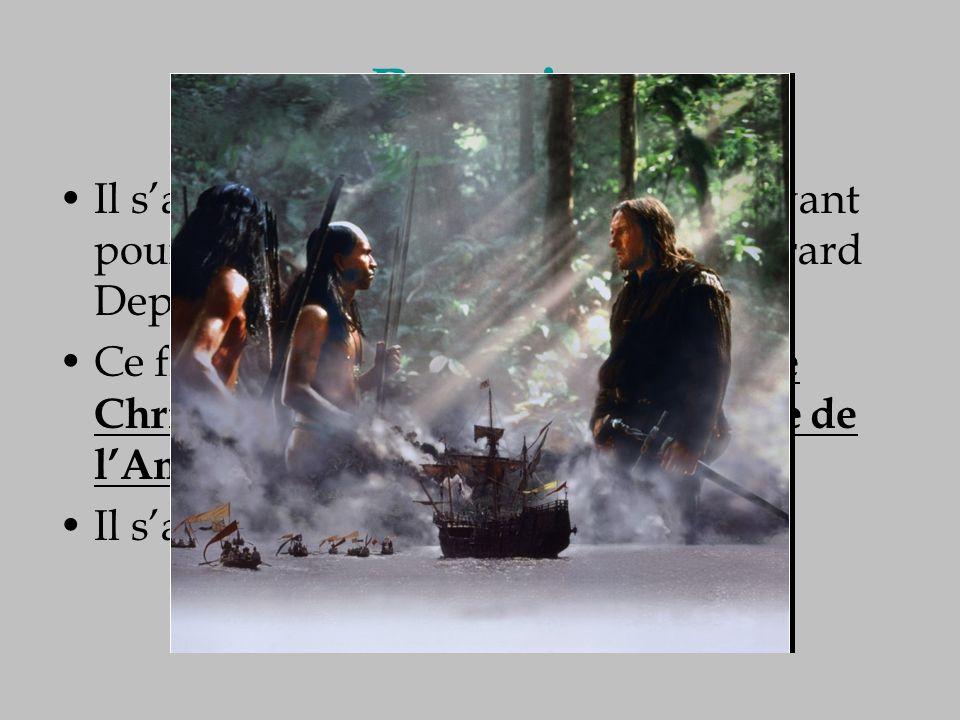 Recopie Il sagit dun film de Ridley Scott, ayant pour interprète principal lacteur Gérard Depardieu Ce film raconte le premier voyage de Christophe Co