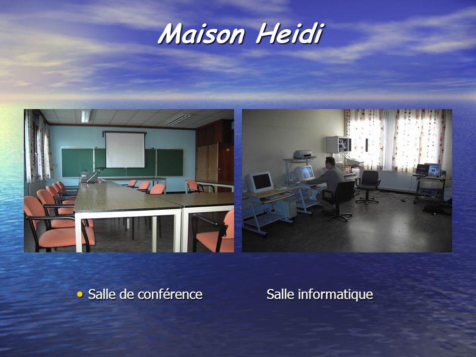 Maison Heidi Salle de conférenceSalle informatique