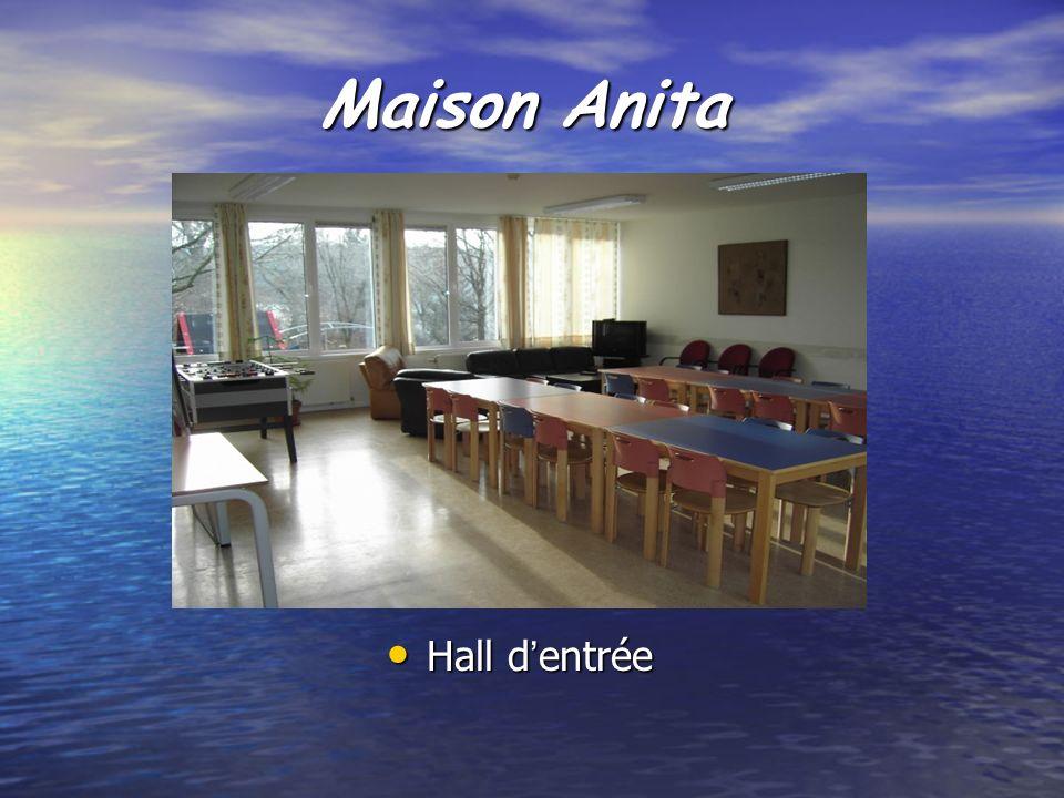 Maison Anita Hall dentrée