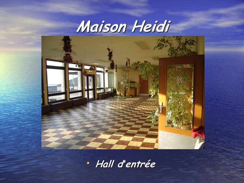 Maison Heidi Hall dentrée