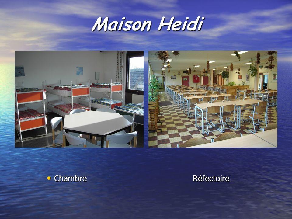 Maison Heidi ChambreRéfectoire