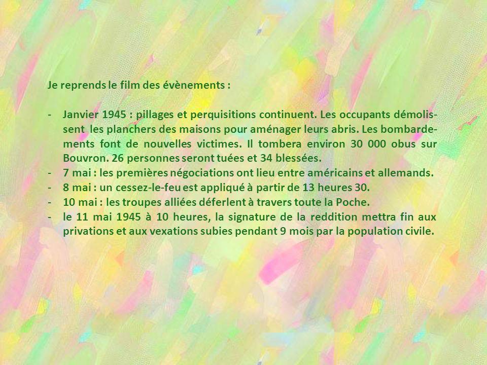 SUR LA POCHE DE SAINT-NAZAIRE Elle s'est refermée sur 125 000 civils, lorsque, le 12 août 44, les forces américaines, tenues en échec devant Lorient e