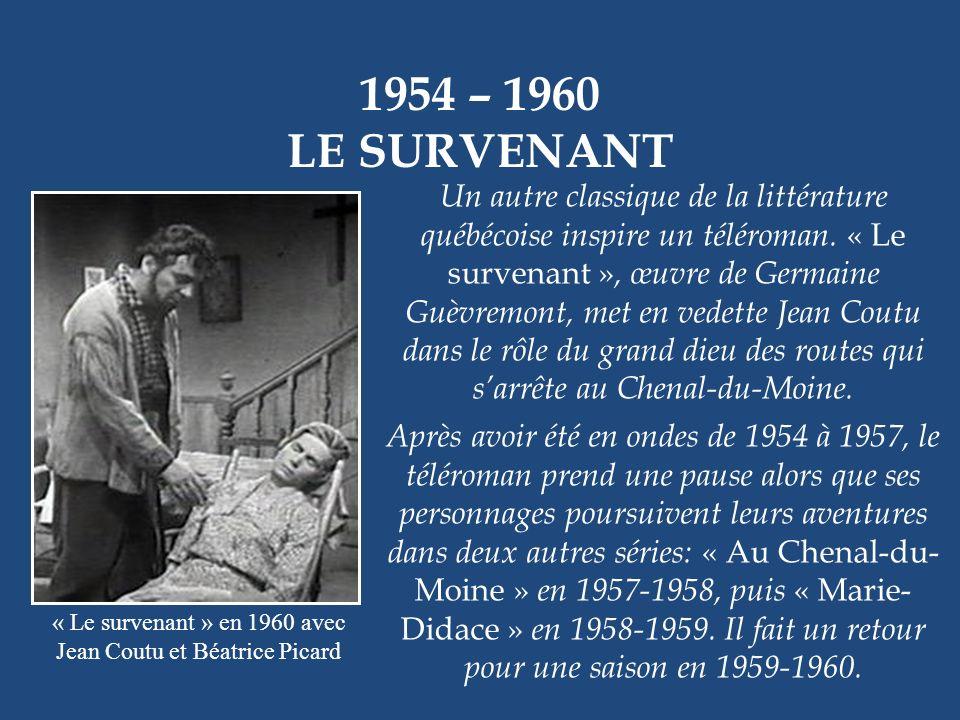 1954 – 1956 LHEURE DU CONCERT Henri Bergeron Radio-Canada a toujours voulu diffuser la « grande » culture. Cest ainsi quHenri Bergeron anima « LHeure