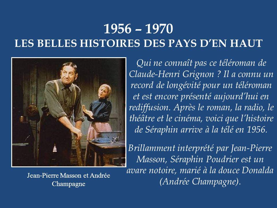 1956 – 1959 LA BOÎTE À SURPRISES Monsieur Surprise est un personnage créé par Pierre Thériault dans cette série pour enfants. Tous les jours, il accue