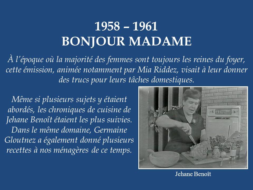 1957 – 1978 LHEURE DES QUILLES Lannonceur Lionel Duval et le joueur François Lavigne Cest presque difficile à croire, mais cette émission fut lune des