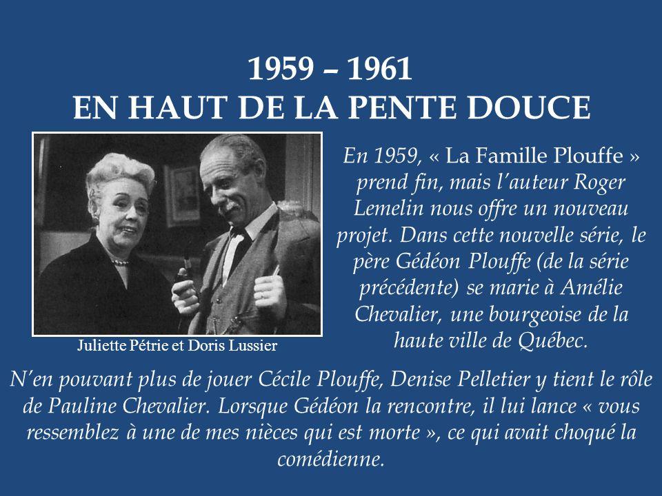 1959 – 1962 OURAGAN Lionel Villeneuve En 1719, la France veut faire de la Nouvelle- Orléans la porte dentrée de la Nouvelle-France. Contre toute atten