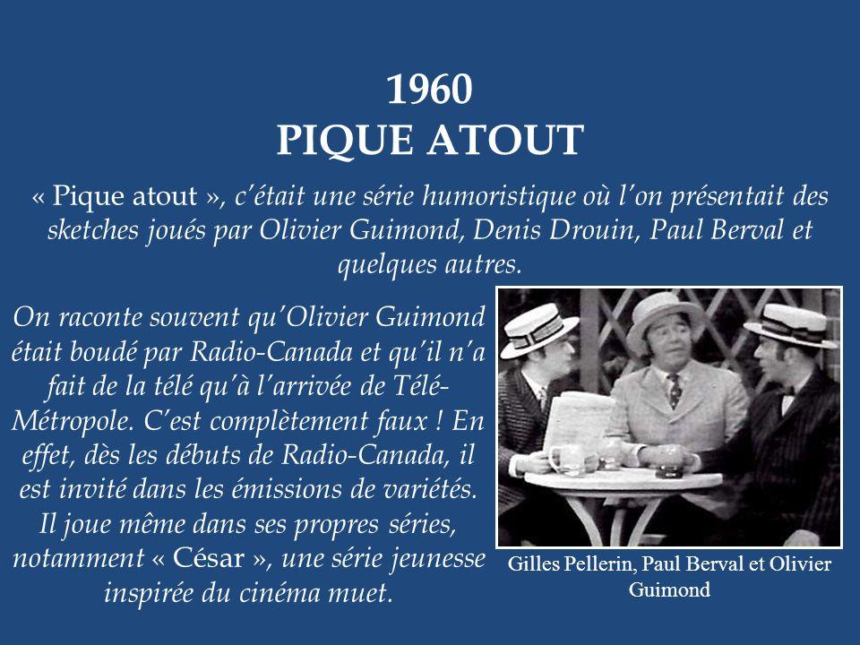 1959 – 1961 EN HAUT DE LA PENTE DOUCE Juliette Pétrie et Doris Lussier En 1959, « La Famille Plouffe » prend fin, mais lauteur Roger Lemelin nous offr