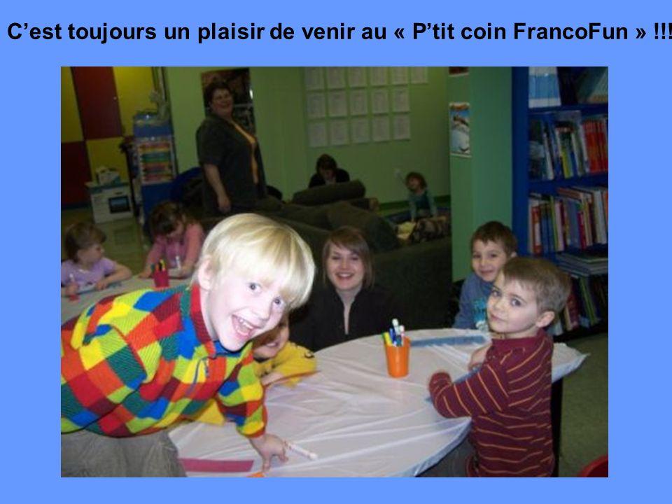 Cest toujours un plaisir de venir au « Ptit coin FrancoFun » !!!