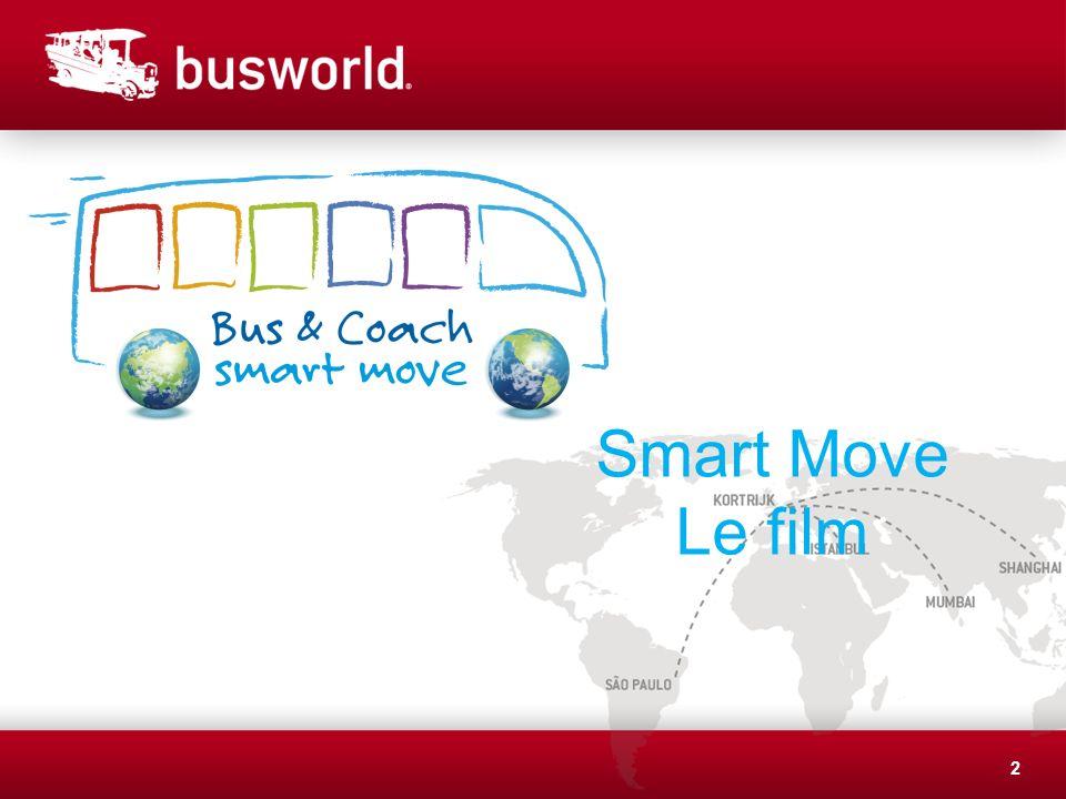 13 Smart Move : avec ses 82 partenaires inscrits, lesquels partagent les valeurs défendues par Smart Move et soutiennent les objectifs de la campagne, elle gagne en importance à léchelle mondiale.