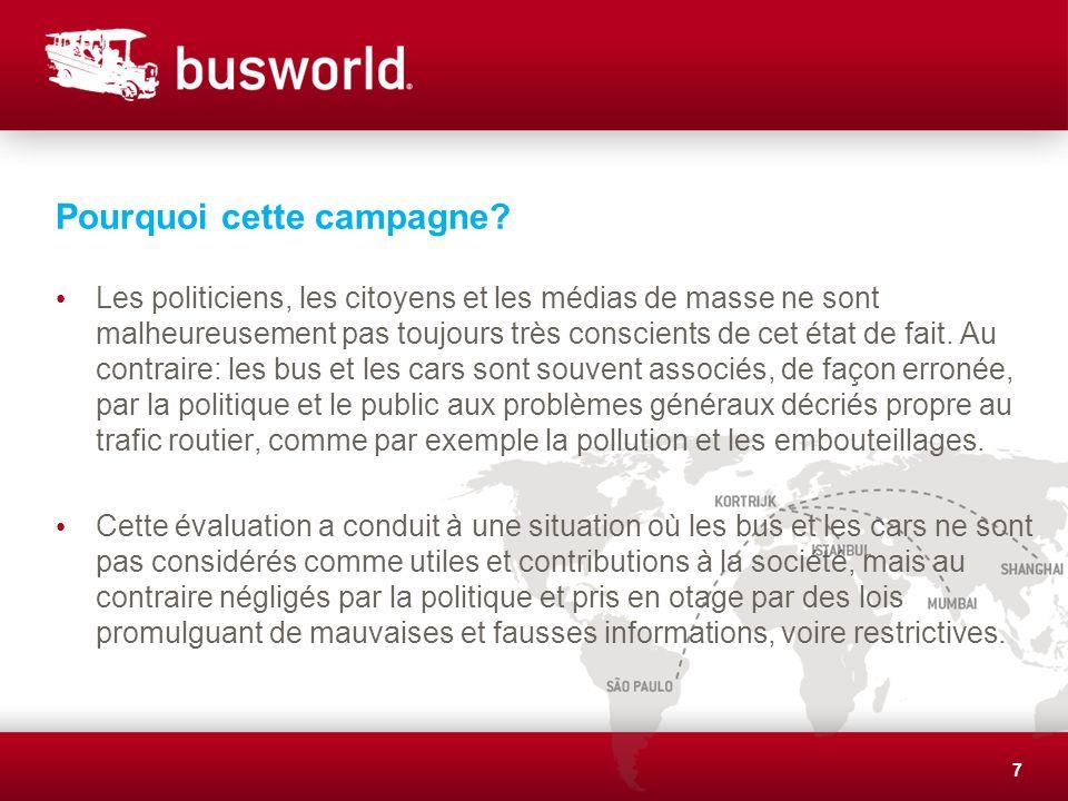 Objectifs de la campagne.