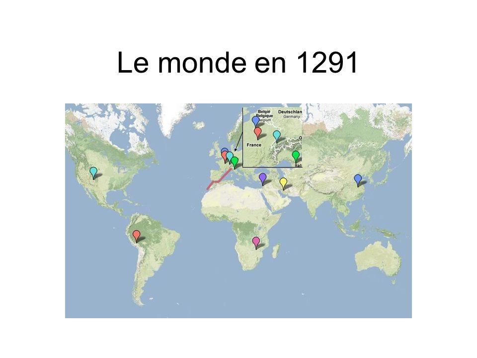 Le monde en 1291