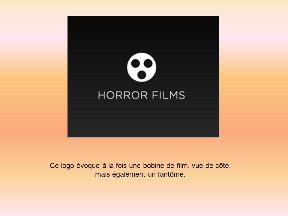 Ce logo évoque à la fois une bobine de film, vue de côté, mais également un fantôme.