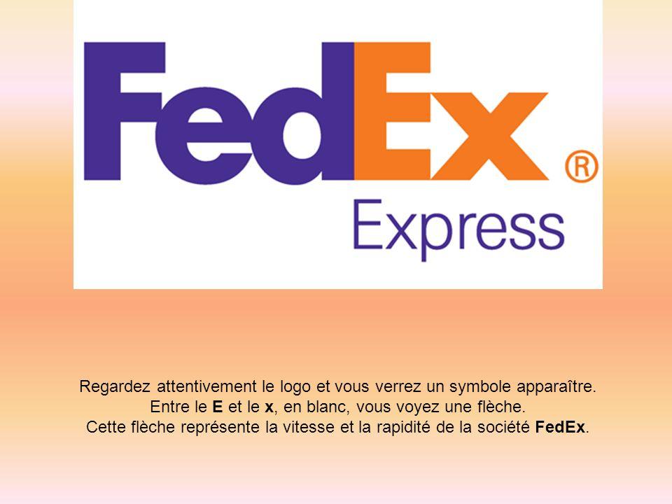 Regardez attentivement le logo et vous verrez un symbole apparaître. Entre le E et le x, en blanc, vous voyez une flèche. Cette flèche représente la v