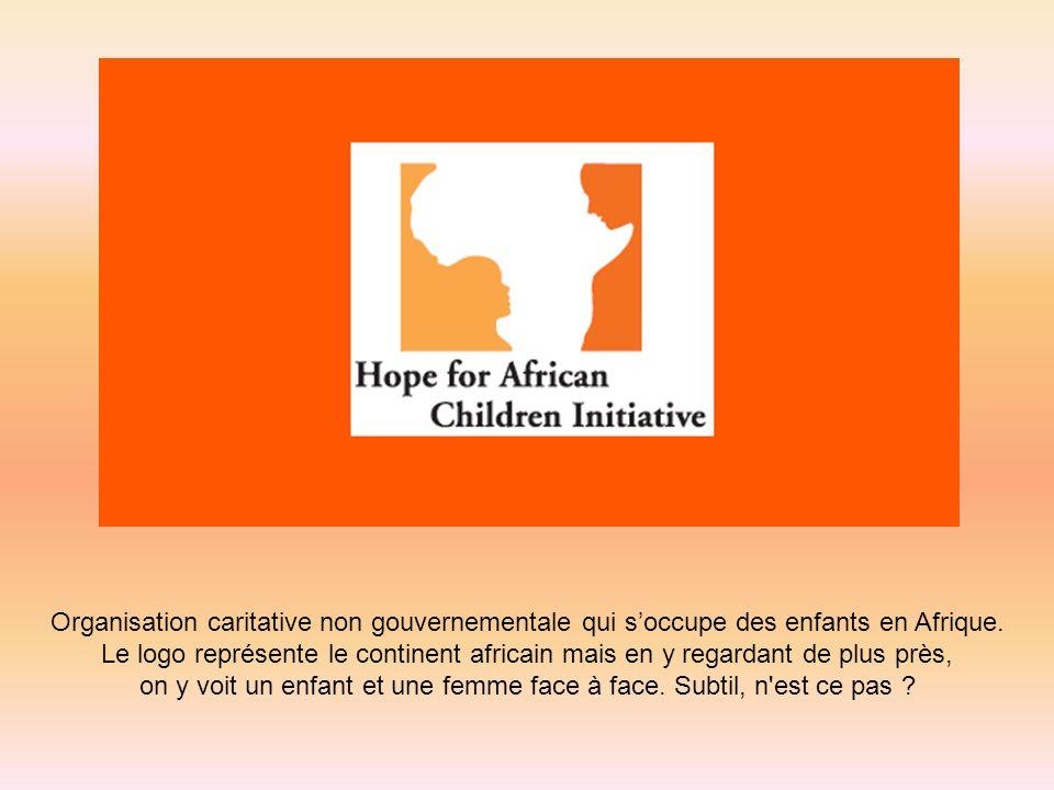 Organisation caritative non gouvernementale qui soccupe des enfants en Afrique. Le logo représente le continent africain mais en y regardant de plus p
