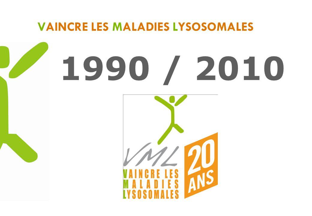 VAINCRE LES MALADIES LYSOSOMALES 1990 / 2010