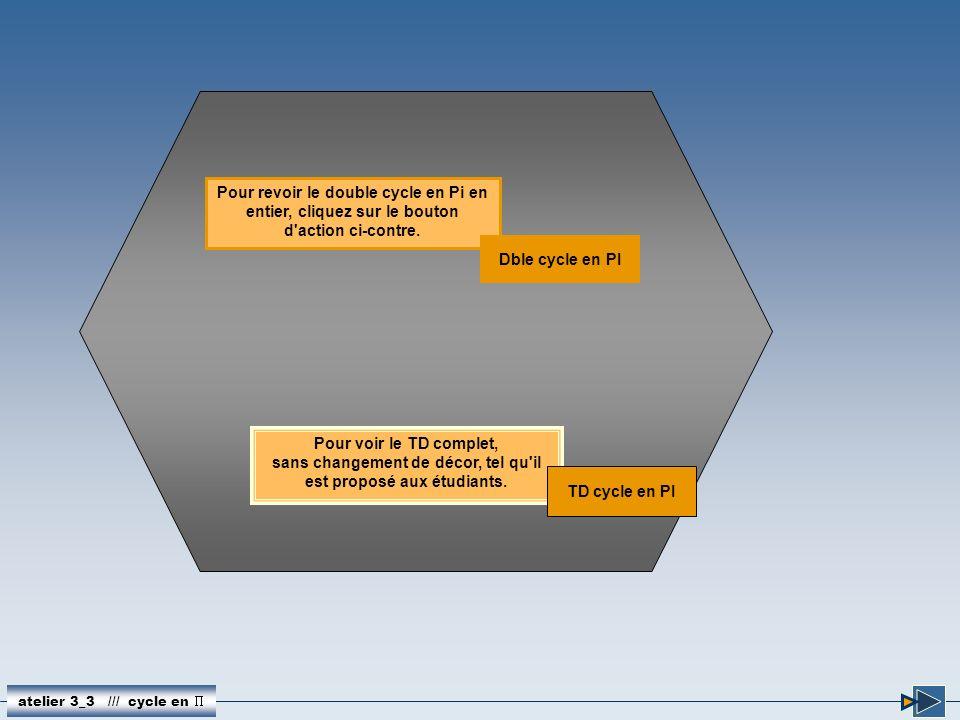 Pour revoir le double cycle en Pi en entier, cliquez sur le bouton d'action ci-contre. atelier 3_3 /// cycle en Dble cycle en PI Pour voir le TD compl
