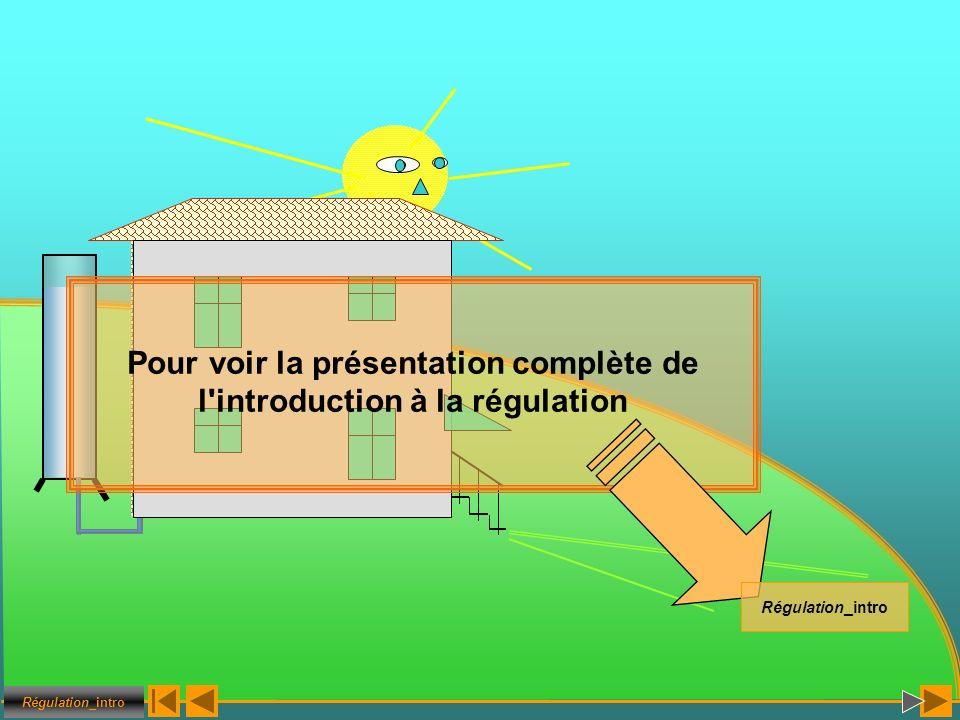Régulation_intro Pour voir la présentation complète de l'introduction à la régulation Régulation_intro