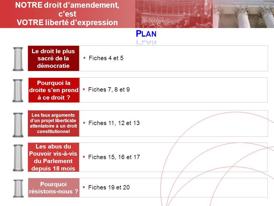 Janvier 2009- 13 - Les nouveaux droits de la réforme constitutionnelle Le renforcement des pouvoirs du Parlement promis en juillet lors de la réforme constitutionnelle, si tant est quil existe, ne se manifeste toujours pas.