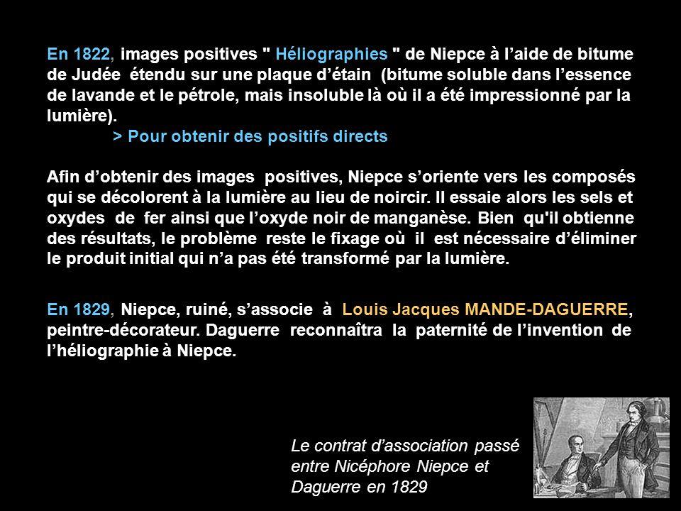 En 1822, images positives
