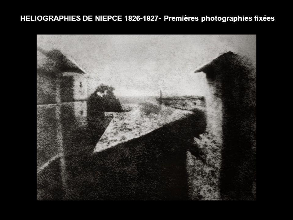 En 1834, Après la mort de Niepce (1833), Daguerre travailla seul, puis avec Isidore Niepce (fils de Nicéphore Niepce) sur un procédé à l iodure d argent.