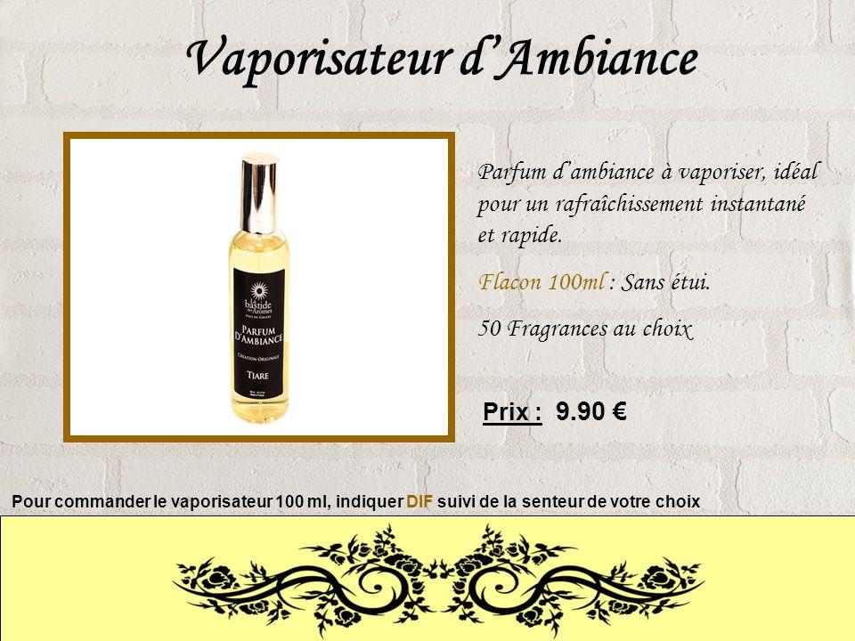 Vaporisateur dAmbiance Parfum dambiance à vaporiser, idéal pour un rafraîchissement instantané et rapide.