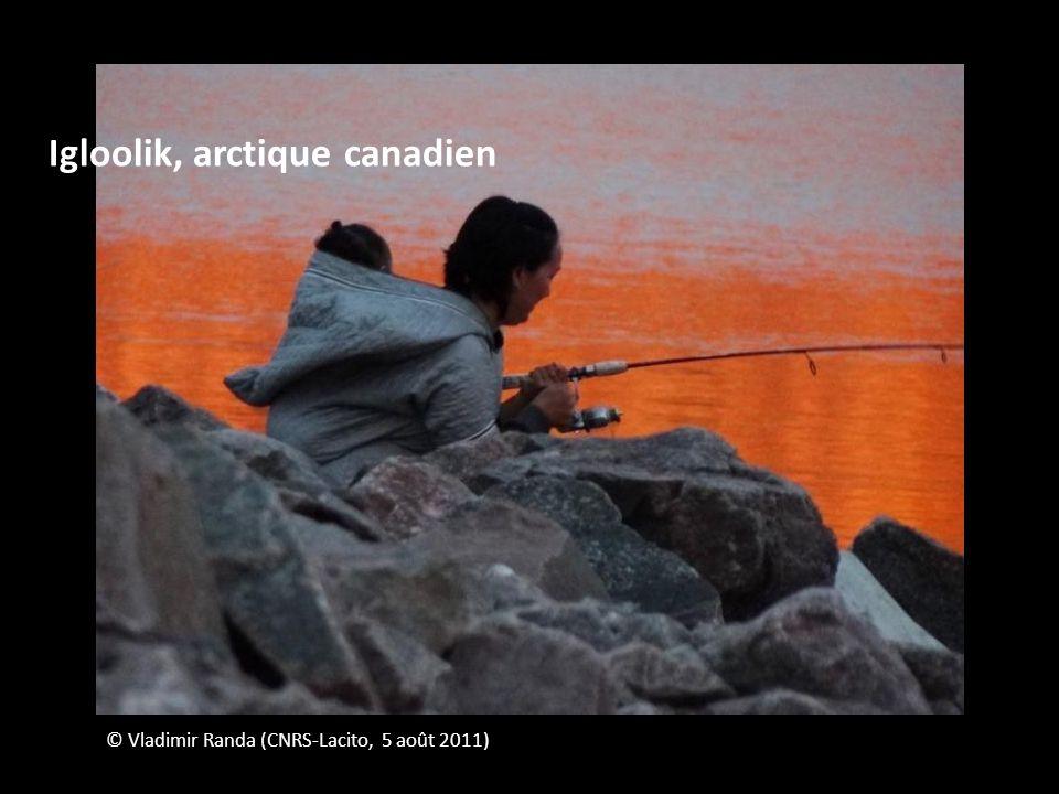 © Vladimir Randa (CNRS-Lacito, 5 août 2011) Igloolik, arctique canadien