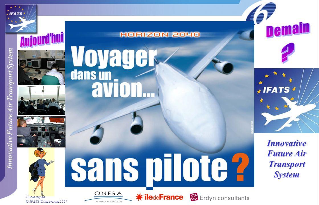 Innovative Future Air Transport System © IFATS Consortium 2007 Unclassified Simulations pilotées Simulateur ATMOS du DLR
