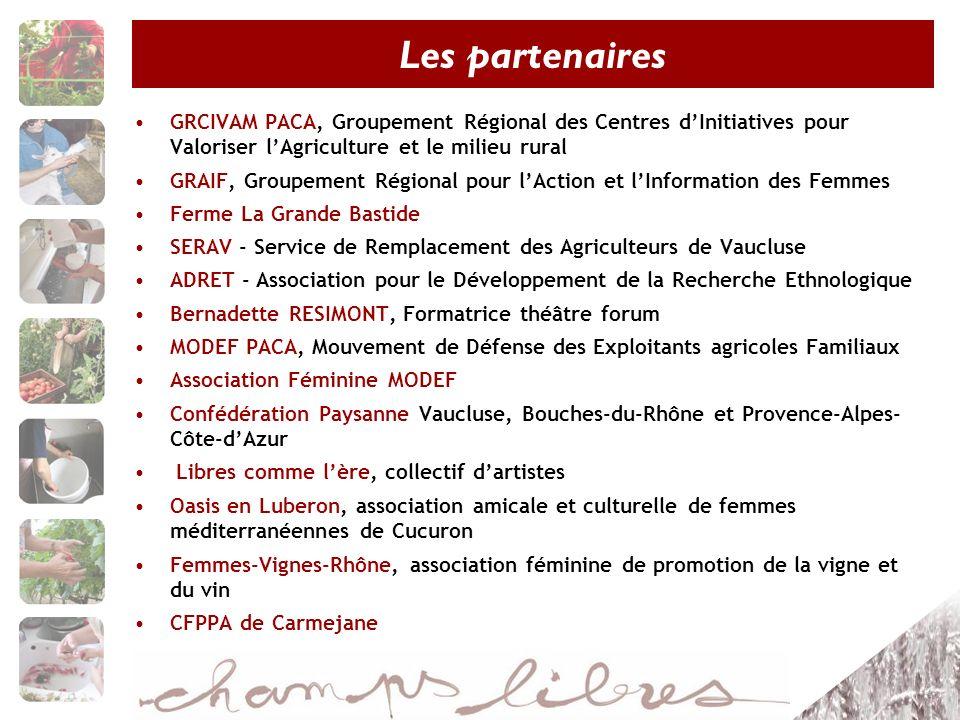 GRCIVAM PACA, Groupement Régional des Centres dInitiatives pour Valoriser lAgriculture et le milieu rural GRAIF, Groupement Régional pour lAction et l