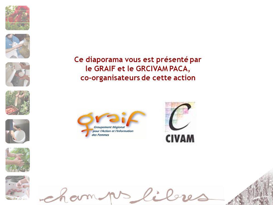 Ce diaporama vous est présenté par le GRAIF et le GRCIVAM PACA, co-organisateurs de cette action