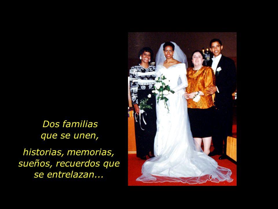 Marian Robinson avec sa fille, Michelle Ann Dunham avec son fils, Barack Obama