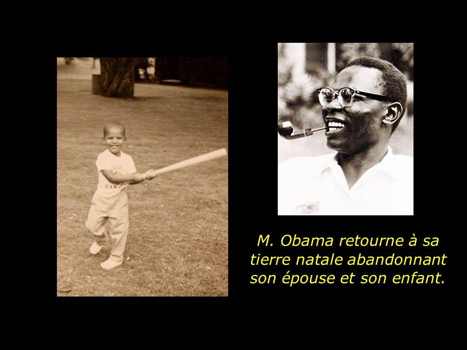 Peu de temps après, il informe quaprès avoir terminé sa carrière, il décide de retourner en Afrique..