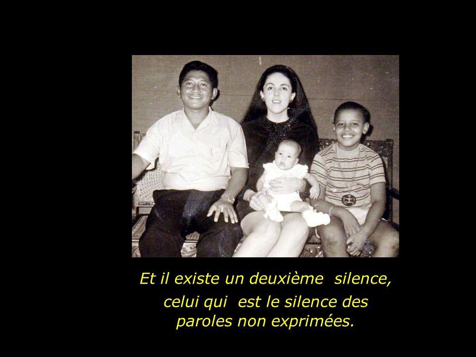 Un silence qui libère et va au- delà des paroles.