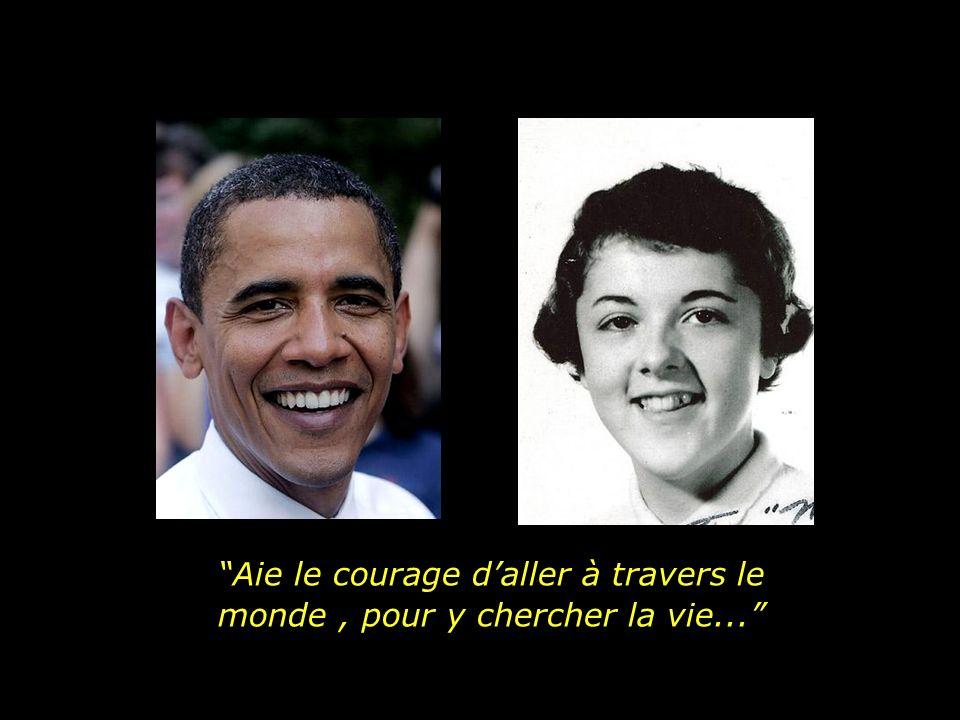 Delle Obama a hérité certaines façons de voir et les choses et la vie.