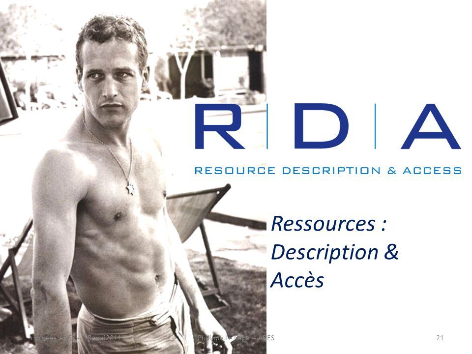 Le nécessaire de survie Un code qui intègre – les modèles FRBR et FRAD – les PIC (2009) Qui identifie chacun des éléments de métadonnées de manière à