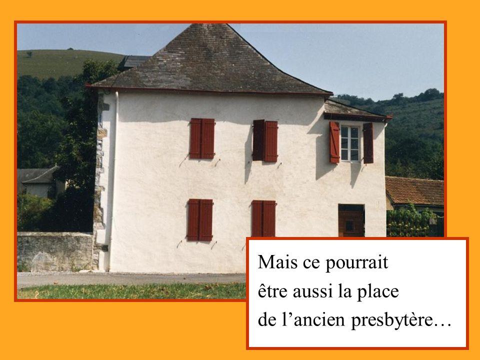 … ou celle du château dArbide, maison noble.