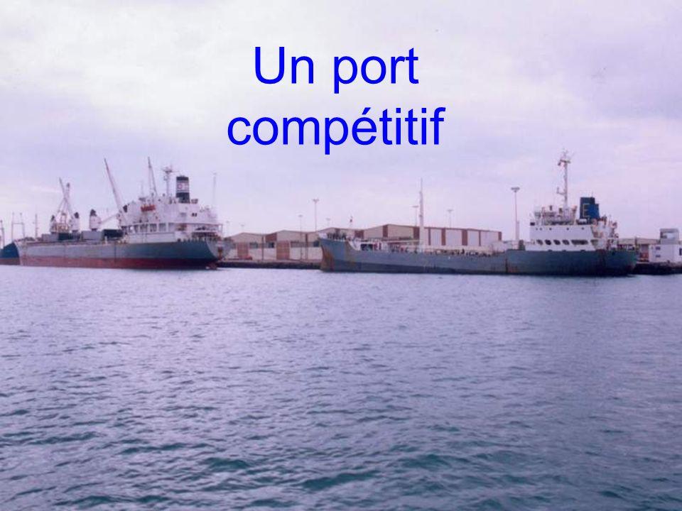 Un port compétitif