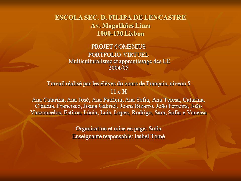 ESCOLA SEC.D. FILIPA DE LENCASTRE Av.
