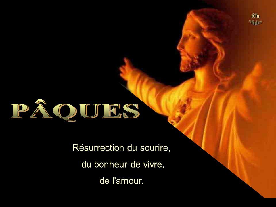 Ria Slides La Pâques nous rappelle ce spectacle incomparable de la Résurrection. La Pâques nous rappelle ce spectacle incomparable de la Résurrection.