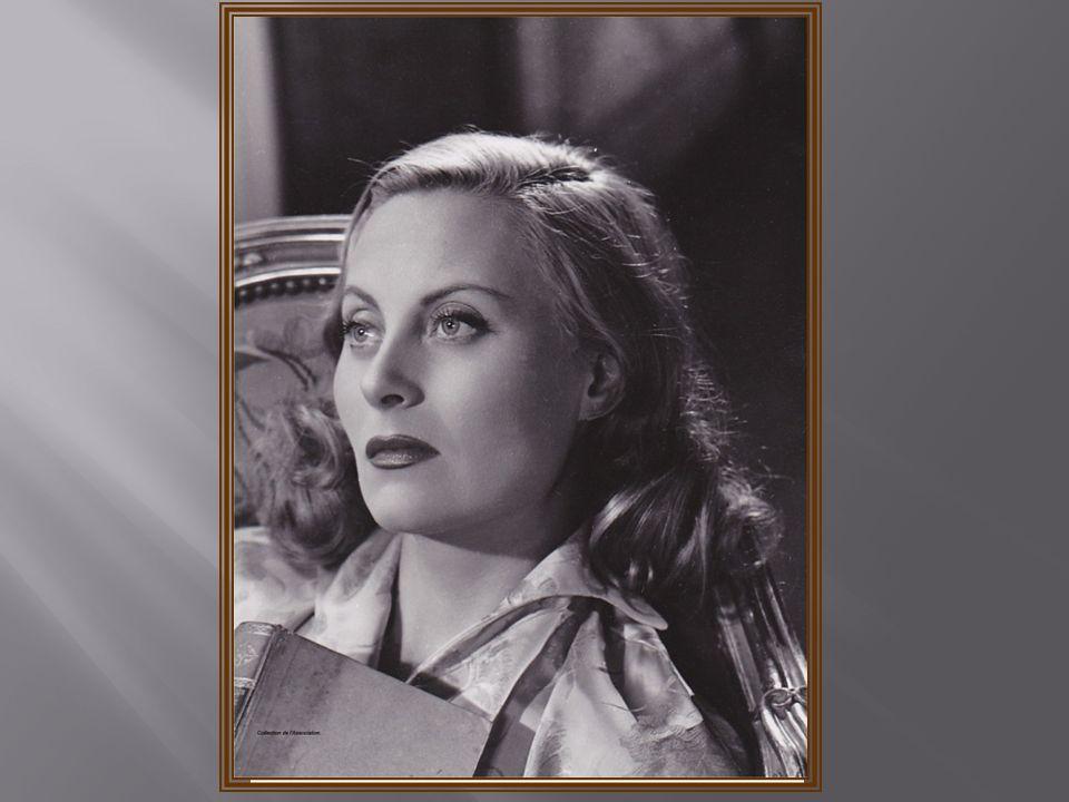 Dédicace de Madame Michèle MORGAN sur le Livre dor de lassociation