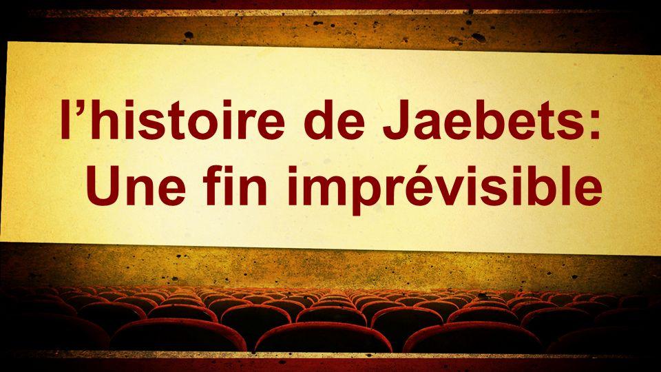lhistoire de Jaebets: Une fin imprévisible
