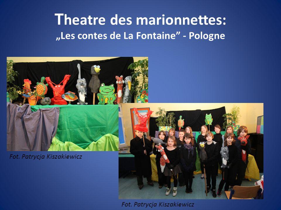 T heatre des marionnettes: Les contes de La Fontaine - Pologne Fot. Patrycja Kiszakiewicz